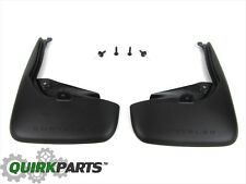 2015-2017 Chrysler 200 PREMIUM MOLDED SPLASH GUARDS REAR SET OF 2 OEM MOPAR