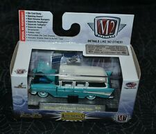 M2 MACHINES AUTO THENTICS 1957 CHEVROLET 210 BEAUVILLE STATION WAGON R35 VHTF