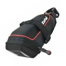 Zefal Iron Pack DS Med Hard Shell Wide Opening Seat Saddle Bag Medium Black Bike