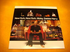 Cardsleeve Single cd MOBY FT DEBBIE HARRY New York New York PROMO 1TR 2006 house