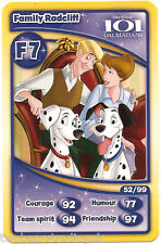 Morrisons Disney Trading Cards 2012: Family Radcliff from 101 Dalmatians (F7)