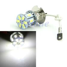 H3 5630 12-LED SMD 600LM Lamp Bulb Car Fog Tail Driving Head Light Pure white