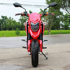 YD SWIFT-E 2000W Brushless Electric Motorcycle Moped Scooter Red