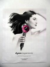 PUBLICITE-ADVERTISING :  DYSON Supersonic  2016 Sèche-cheveux