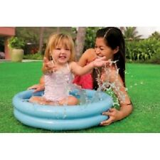Paddling Pool 2 Ring Baby Toddler Kids Childs Small 55cm Inflatable Swimming Toy