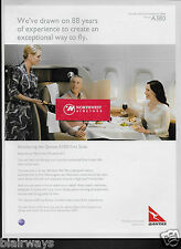QANTAS AIRWAYS AIRBUS A380 FIRST CLASS SUITE 88 YEARS EXPERIENCE NEIL PERRY AD