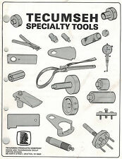 TECUMSEH SPECIALTY TOOLS  MANUAL X