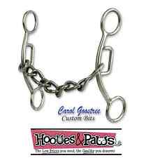 Carol Goostree Delight Snaffle Bit Classic Equine Horse Chain