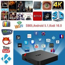 T95N Mini MX+ 4K S905 2.0GHz Quad Core Android 5.1 Smart TV Box KODI WIFI 1G+8G