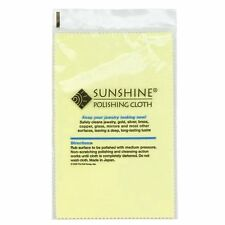 [PACK OF 25] SUNSHINE POLISHING CLOTHs - HIGH QUALITY JEWELRY CLOTH