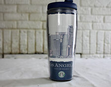 STARBUCKS Los Angeles Global Icon Travel Tumbler Coffee Cup 12 oz Mug Disc 2008