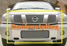 FOR 2004 2005 2006 2007 NISSAN Titan/Armada Billet Grille Combo inserts