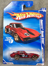 HOT WHEELS ~ FASTER THAN EVER ~ 1963 CORVETTE GRAND SPORT ~ RED