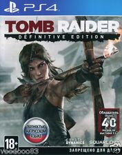 Tomb Raider: Definitive Edition (PS4) En,Russian,Deutsch,italiano,Polski,French