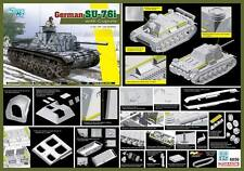 1/35 Dragon German SU-76i with Cupola #6856