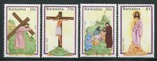 BARBADOS 1992 Ostern Easter 793-796 ** MNH