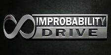 "The Hitchhiker's Guide to the Galaxy ""Infinite Improbability Drive"" Car Emblem"