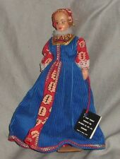 "VINTAGE "" ,FAWN"" COSTUME DOLL ANN BOLELYN"", HARD PLASTIC, WITH TAG     (#"
