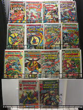 Marvel Team-Up #32-57 Lot of 14Diff Human Torch Spider-Man Vision Bronze Age!