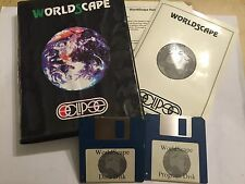 "Acorn Archimedes A3000 A5000 RISC OS PC Game World Scape + Caja instruir ""completa"