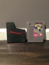 Battletoads (Nintendo Entertainment System, 1991) nes Game + Dust Cover Sleeve