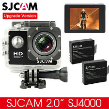 Original SJCAM SJ4000 12M HD 1080P Sports DV Waterproof Action Camera+2X Battery