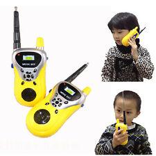 2 UNIDADES Walkie Talkie Infantil Electrónico Juguetes Portátil dos vías Radio