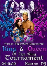 WSU Womens Wrestling -King &Queen of the Ring 2009 DVD AJ Lee April Jay Lethal
