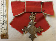 Lady's Civil MBE Medal Most Excellent Order Of The British Empire Badge (1937)