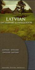 New Dictionary and Phrasebooks Ser.: Latvian-English Dictionary and...