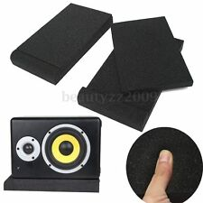 Two 5'' Monitor Foam Speaker Isolation Studio Shockproof Shock-resistance Pads