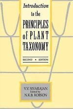 Introduction to the Principles of Plant Taxonomy by Sivarajan, V. V.