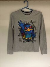 Perry the Platypus Mission Marvel Long-Sleeved Kids Thermal Epic Threads Shirt