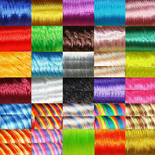 16 Metres Thread Tail of Mouse 2mm  A149  Colours a Choose Beads Satin Cord