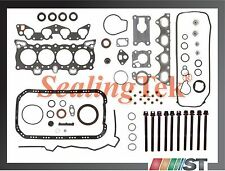 88-95 Honda D15B D16A6 Engine Full Gasket Set w/ Bolts kit SOHC non-Vtec motor
