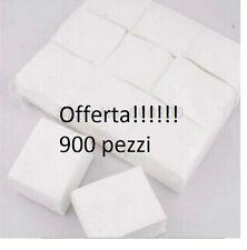 900pz Salviette Cellulosa Pad Ricostruzione Unghie Remover Cleaner Nail Art new