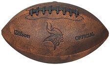 """NFL Minnesota Vikings 9"""" Throwback Football"""