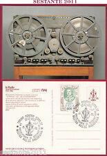 ITALIA MAXIMUM MAXI CARD RADIO STORIA 60 ANNI RAI BLATTNERPHON 1984 TORINO C387