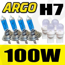 4 X H7 499 Xenon Super White 100w Doble Twin Pack Faros 501 bombillas Faro