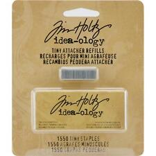 "TIM HOLTZ Idea-ology Tiny Attacher Stapler REFILL STAPLES 1/4"" - 1550/pkg."