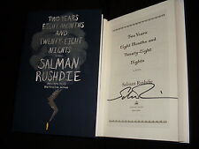 Salman Rushdie signed Two Years Eight Months and Twenty-Eight Nights 1/1 HC book