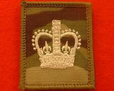 Velcro Ivory WO2 MTP UBACS Rank Patch Multicam Warrant Officer Helmet Patch