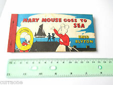 Enid Blyton MARY MOUSE GOES TO SEA SC strip book illus by Fred White SCARCE