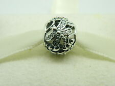 NEW!  AUTHENTIC PANDORA CHARM  DRAGONFLY MEADOW #791733CZ
