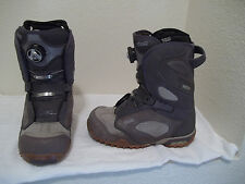 WOMENS VANS CONTRA RECCO BOA LACE SYSTEM PURPLE GRAY SNOWBOARD BOOTS SZ 6