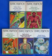 LOT of 5 Science Fiction Paperbacks B16 Isaac Asimov Paul French VG+