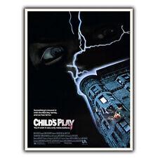 Juego De Niños Película De Placa De Pared Letrero de metal película anuncio cartel impresión de arte