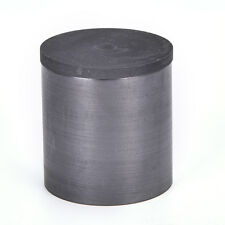 40 x 40mm High Purity Graphite Melting Crucible Casting With Lid Cover SilverMDA