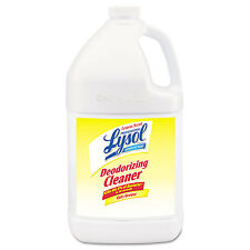 Disinfectant Deodorizing Cleaner, 1gal Bottle, Concentrate, Lemon Scent