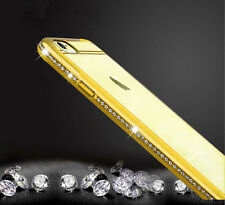 Metal Bumper Diamond Bling Glitter Light weight  Case Cover For Mobile Phone